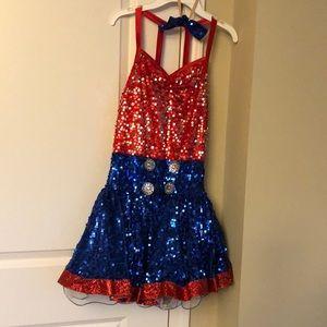 Ballerina costume.